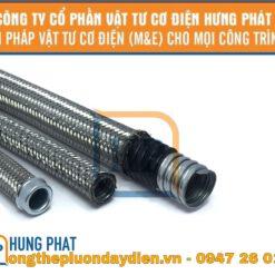 ống ruột gà bọc nhựa bọc inox 304
