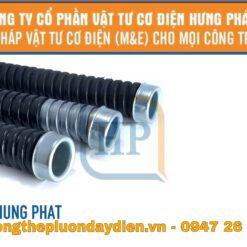 ống ruột gà bọc nhựa pvc